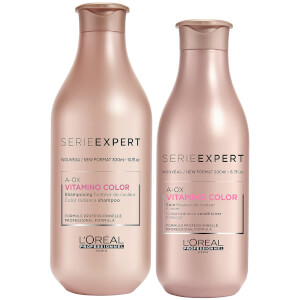 L'Oréal Professionnel Serie Expert Vitamino Color A-OX Shampoo and Conditioner Duo