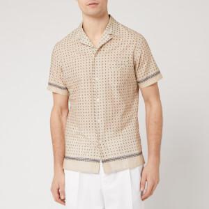 Officine Generale Men's Dario Placed Dots Shirt - Multi