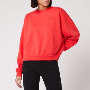 Levi's Women's Diana Crew Neck Sweatshirt - Tomato