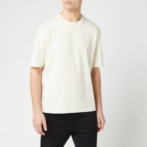 AMI Men's Logo T-Shirt - Ecru