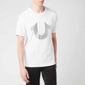 True Religion Men's Disco Crew Neck T-Shirt - White