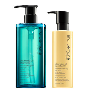 Shu Uemura Art of Hair Cleansing Oil Shampoo and Conditioner Duo - Oily Hair