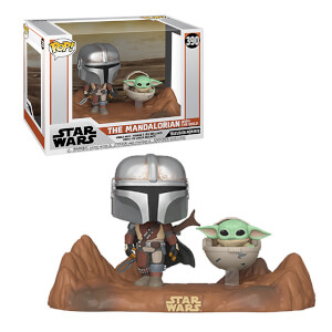Figura Funko Pop! El Mandaloriano & El Niño (Baby Yoda) TV Moment - Star Wars: The Mandalorian