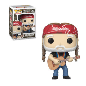 Pop! Rocks Willie Nelson Pop! Vinyl Figure