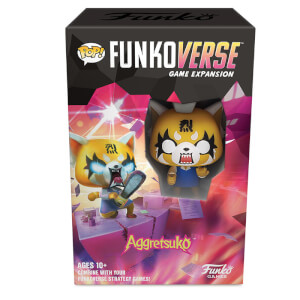 Funkoverse Aggretsuko Expansion Strategy Game