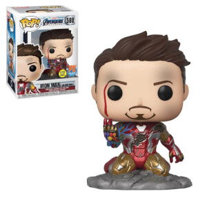 Marvel - I Am Iron Man PX EXC Figura Funko Pop! Vinyl (GITD)
