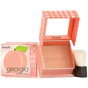 benefit Georgia Golden Peach Powder Blush