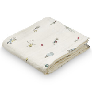 Cam Cam Printed Muslin Cloth - Holiday (Pack of 2)