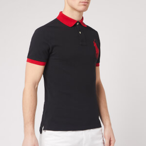 Polo Ralph Lauren Men's Short Sleeve Big Pony Polo Shirt - Polo Black