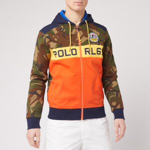 Polo Ralph Lauren Men's Camo Zip Up Hoodie - Camo Multi