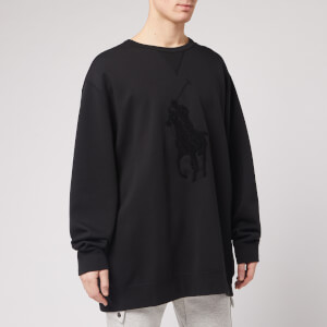 Polo Ralph Lauren Men's Contrast Big Pony Sweatshirt - Polo Black
