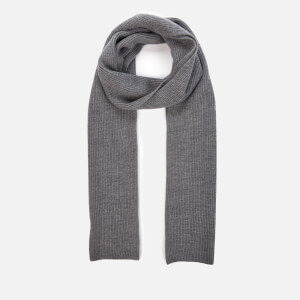 Polo Ralph Lauren Men's Merino Wool Scarf - Fawn Grey Heather