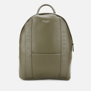 Ted Baker Men's Snacked Debossed Backpack - Olive