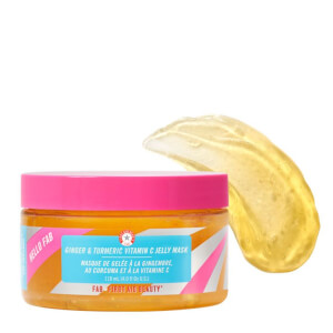 First Aid Beauty Hello FAB Ginger & Turmeric Vitamin C Jelly Mask 118ml