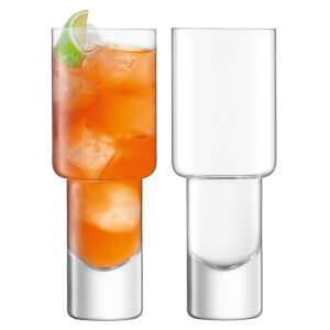 LSA Vodka Mixer Glass 400ml (Set of 2)