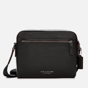 Coach Men's Metropolitan Soft Camera Bag - Black