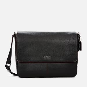 Coach Men's Metropolitan Soft Courier Case - Black
