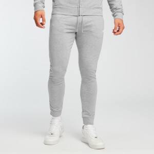 MP Form slim fit joggingbroek voor heren - Grijs gemêleerd