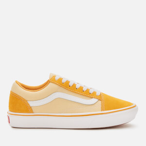 Vans Comfycush Suede/Textile Old Skool Trainers - Cadmium Yellow/Golden Haze