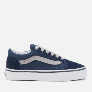 Vans Kid's Old Skool Trainers - Dress Blues/Drizzle