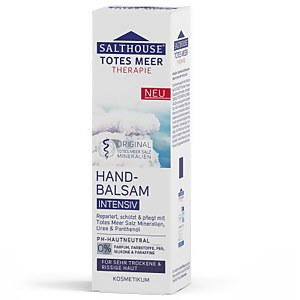 Salthouse® Totes Meer Therapie Hand-Balsam Intensiv