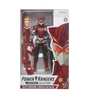 Power Rangers Lightning Collection Beast Morphers - Figurine Cybervillain Blaze