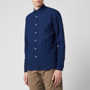 Oliver Spencer Men's Clerkenwell Tab Shirt - Indigo Rinse