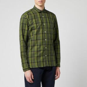 Oliver Spencer Men's Clerkenwell Tab Shirt - Green
