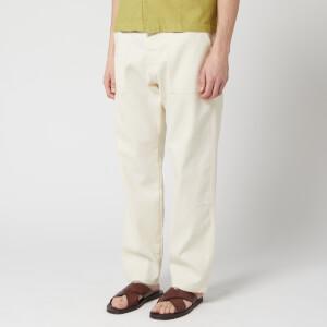 Universal Works Men's Fatigue Pants - Ecru