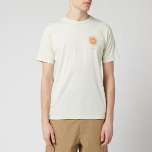 Universal Works Men's Organic Sun Print T-Shirt - Ecru