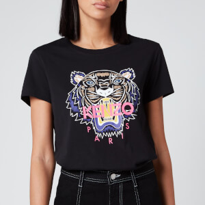 KENZO Women's Classic Tiger T-Shirt - Black