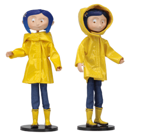 NECA Coraline - Bendy Fashion Doll - Rain Coat