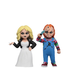 "NECA Toony Terrors - 6"" Action Figure - Chucky & Tiffany 2 Pack"