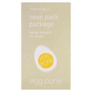 TONYMOLY Egg Pore Nose Pack (7 Sheets)