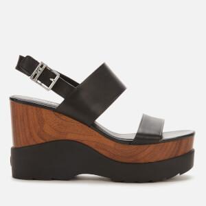 MICHAEL MICHAEL KORS Women's Rhett Wedge Sandals - Black