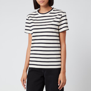 BOSS Hugo Boss Women's Stripe T-Shirt - Navy