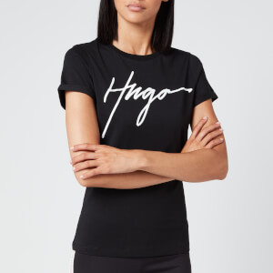 HUGO Women's The Slim T-Shirt - Black