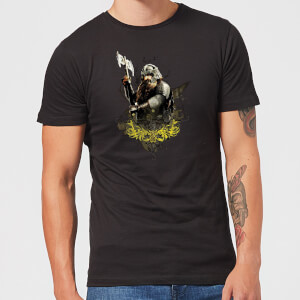 The Lord Of The Rings Gimli Men's T-Shirt - Black