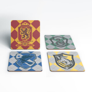 Harry Potter House Coaster Set