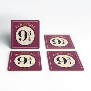 Harry Potter Nine And Three Quarters Coaster Set