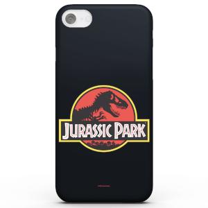 Funda Móvil Jurassic Park Logo para iPhone y Android