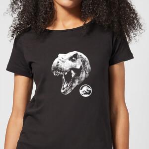 Jurassic Park T Rex Women's T-Shirt - Black