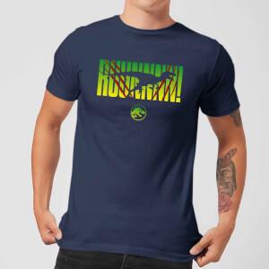 Jurassic Park Run! Men's T-Shirt - Navy