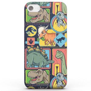Jurassic Park Cute Dino Pattern Smartphone Hülle für iPhone und Android