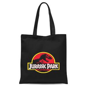 Jurassic Park Logo Tote Bag - Black