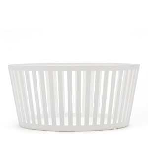 Yamazaki Tower Fruit Basket Deep - White