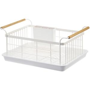 Yamazaki Tosca Dish Drainer - White