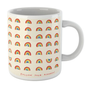 Poet and Painter Follow Your Rainbow Mug