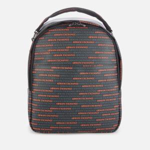 Armani Exchange Men's All Over Logo Backpack - Multi