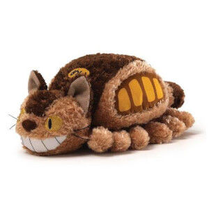 Studio Ghibli's My Neighbor Totoro - Fluffy Cat Bus Plush Figure 20cm